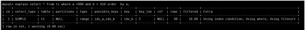SQL执行效率的分析-trace分析慢查询