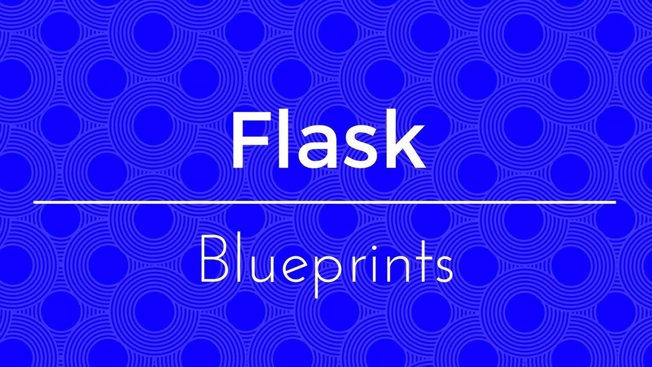 flask的Blueprint,前后台蓝图注册